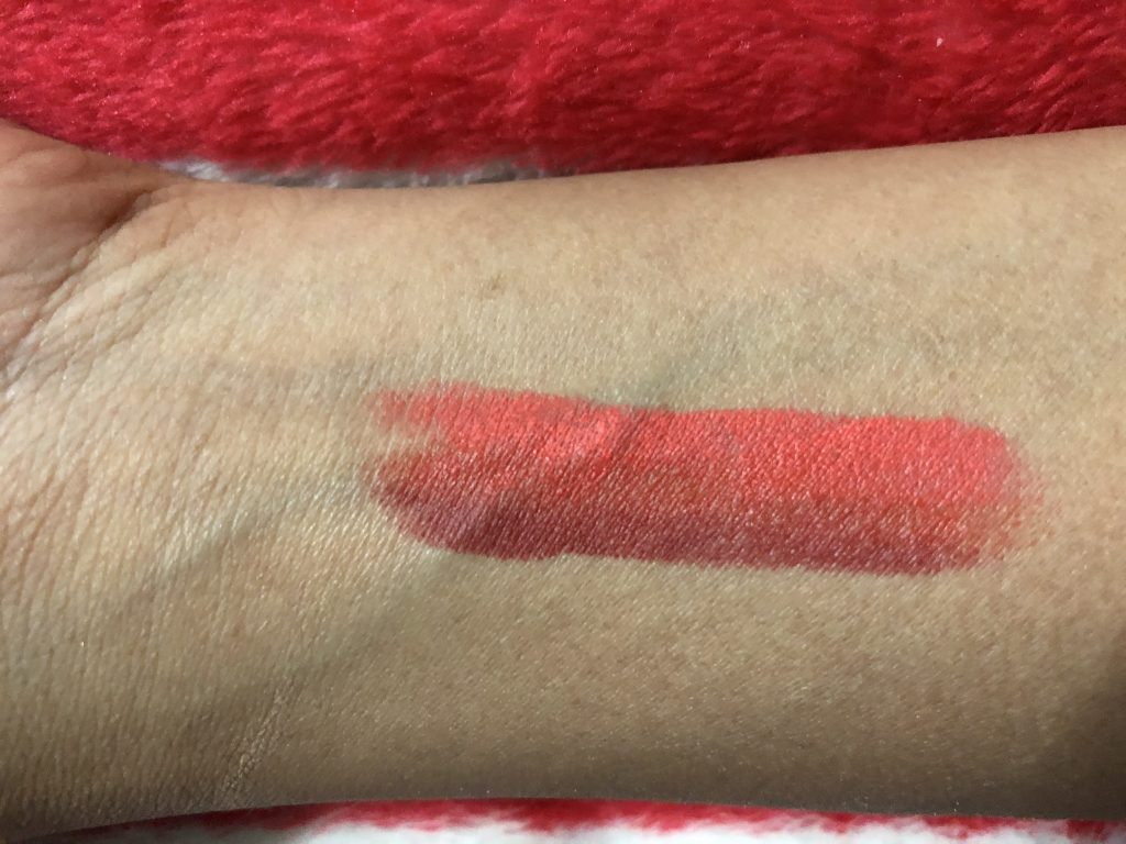 Smashbox Be Legendary Triple Tone Lipstick Red Ombré Swatch