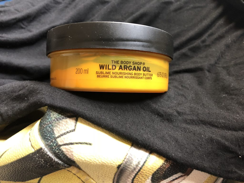The Body Shop Wild Argan Oil Infused Body Butter