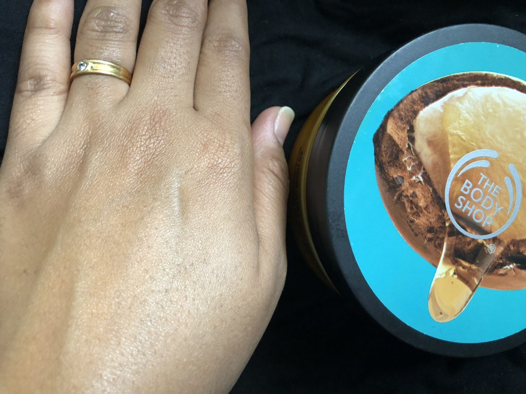 The richness of The Body Shop Wild Argan Oil Body Butter