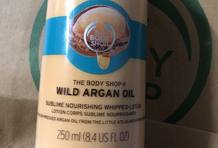 The Body Shop Wild Argan Oil Sublime Nourishing Whipped Body Lotion