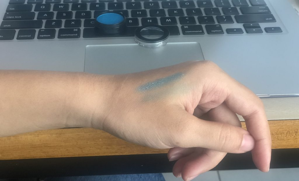Sephora Curacao Punch Mono Eyeshadow Swatch Test