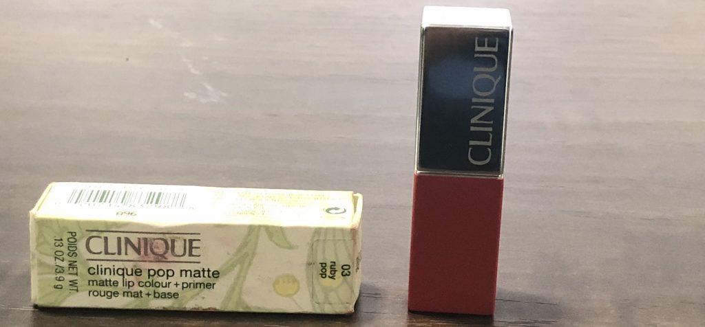 Clinique Pop Matte Lip Color - Ruby Pop