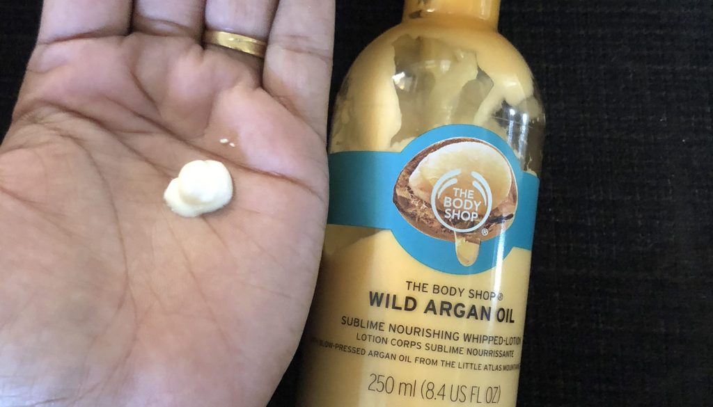 The Body Shop Wild Argan Oil Sublime Nourishing Whipped Body Lotion Featured Image