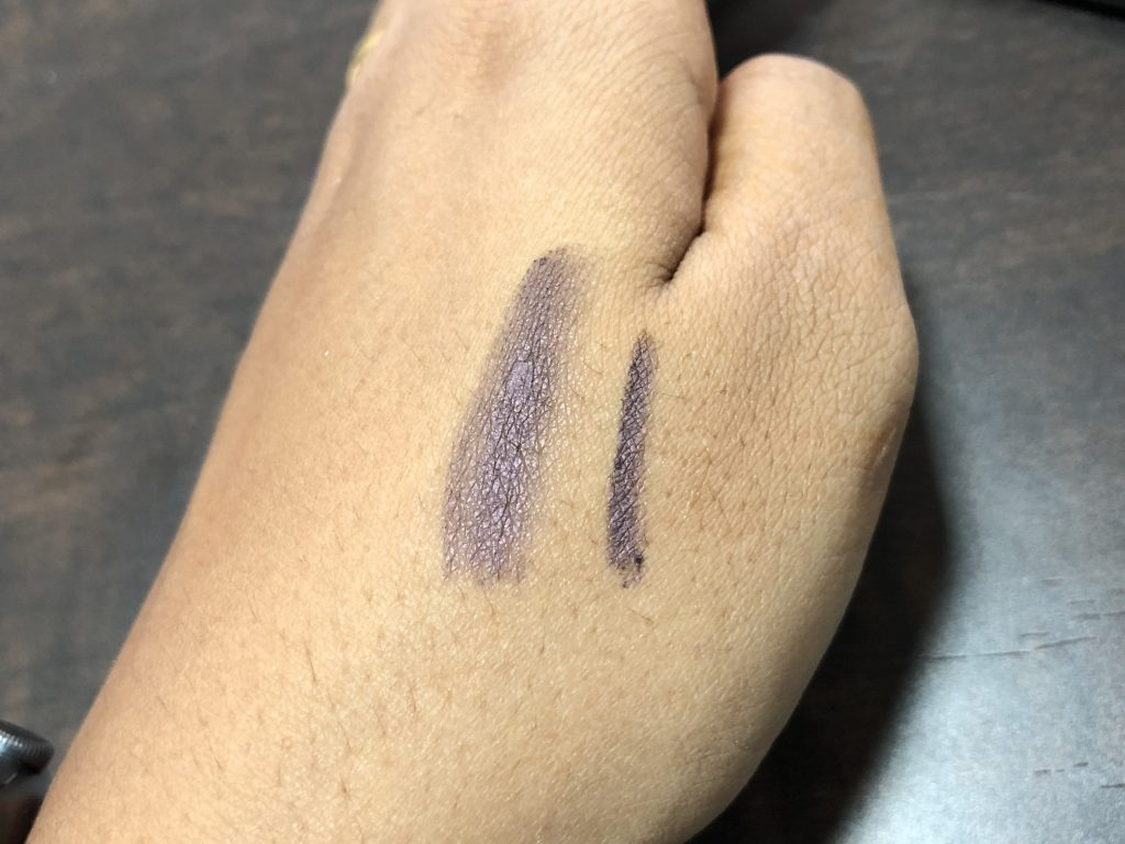SEPHORA COLLECTION Eye Pencil To Go Vintage Mauve Swatch Test