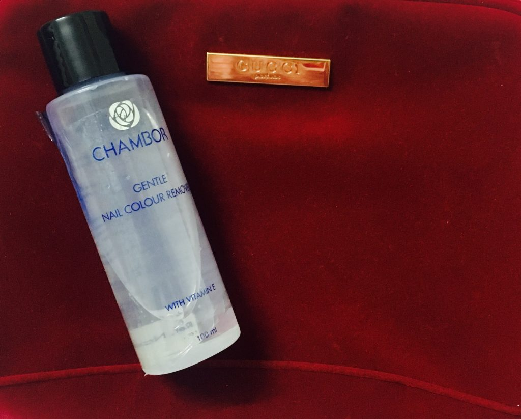 Chambor Gentle Nail Color Remover