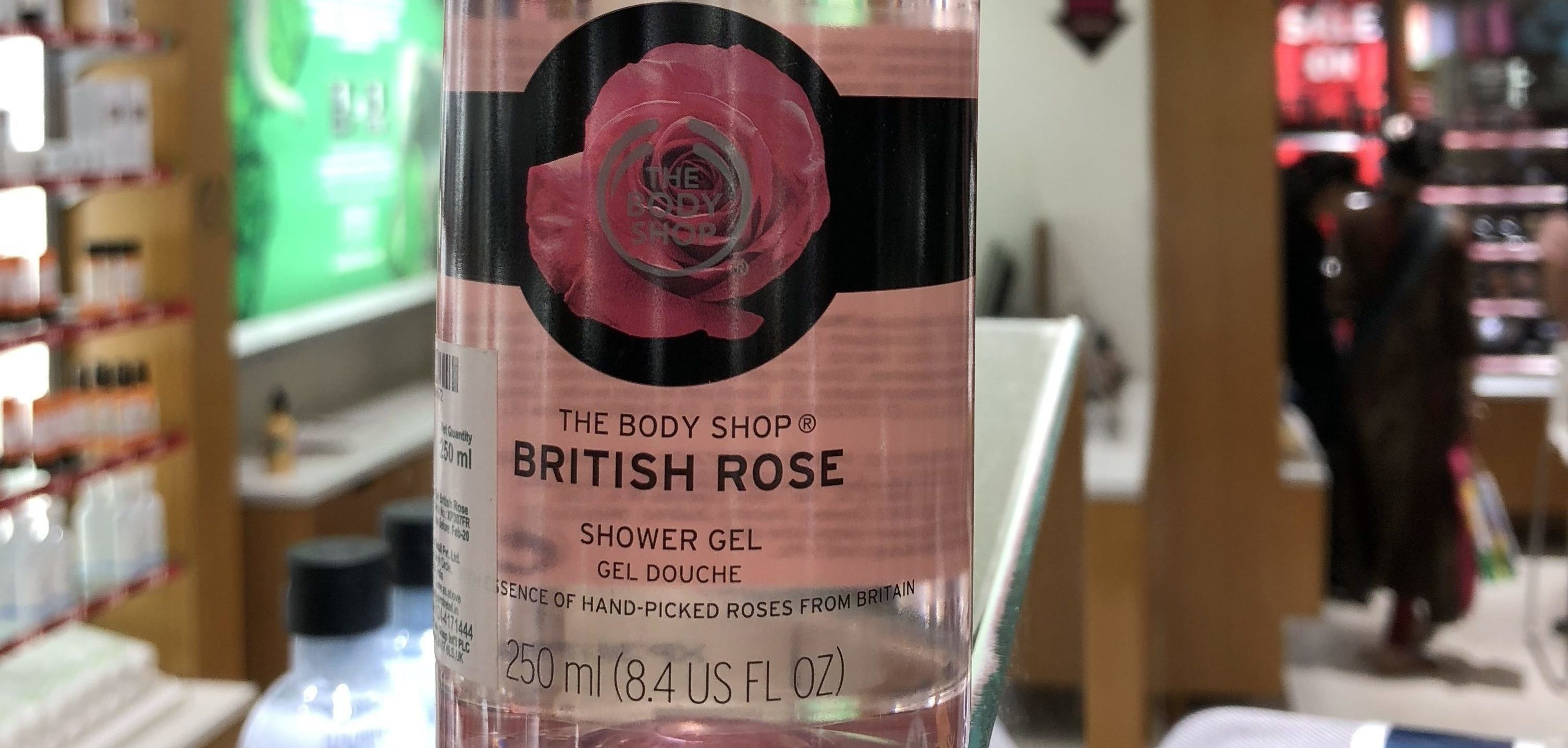TBS british rose shower gel featured image
