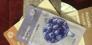 The Face Shop Blueberry Real Nature Face Mask Sheet