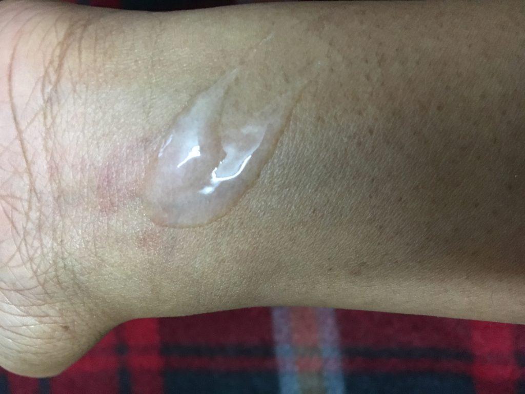 Cetaphil Gentle Skin Cleanser Swatch Test