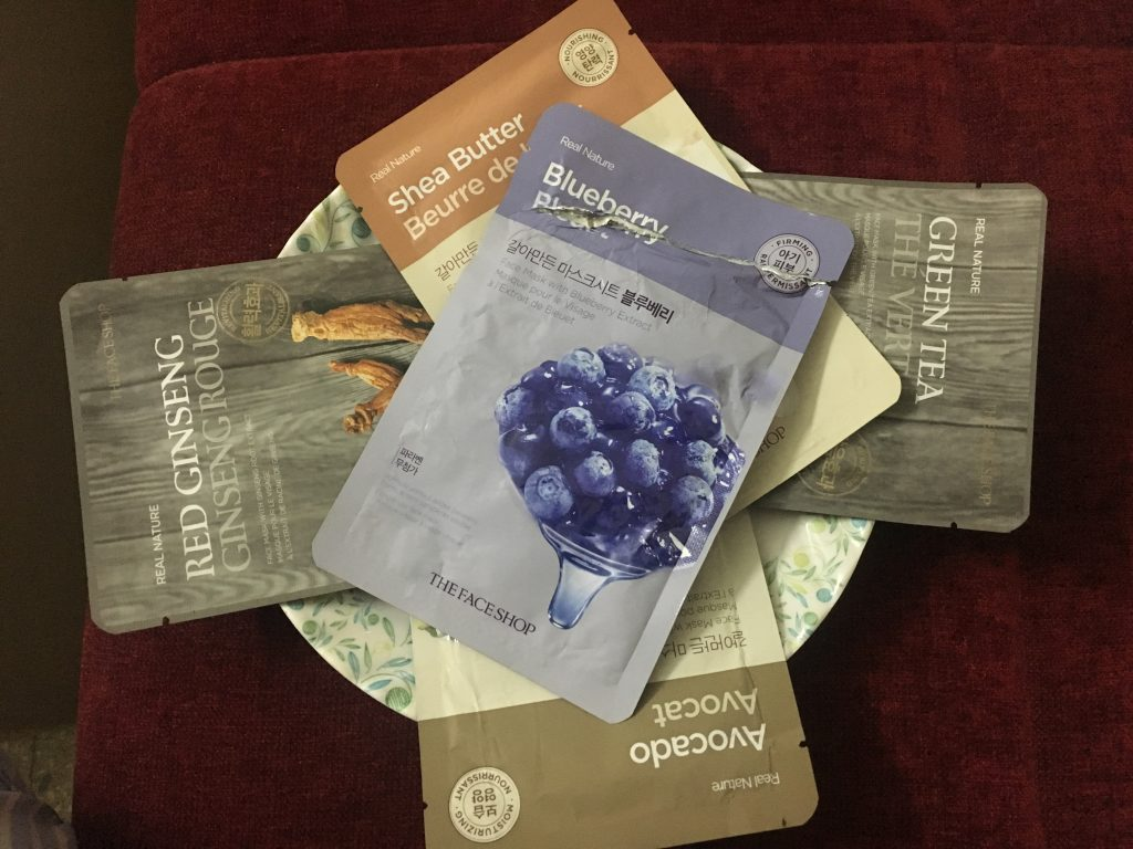 The Face Shop Blueberry Real Nature Face Mask