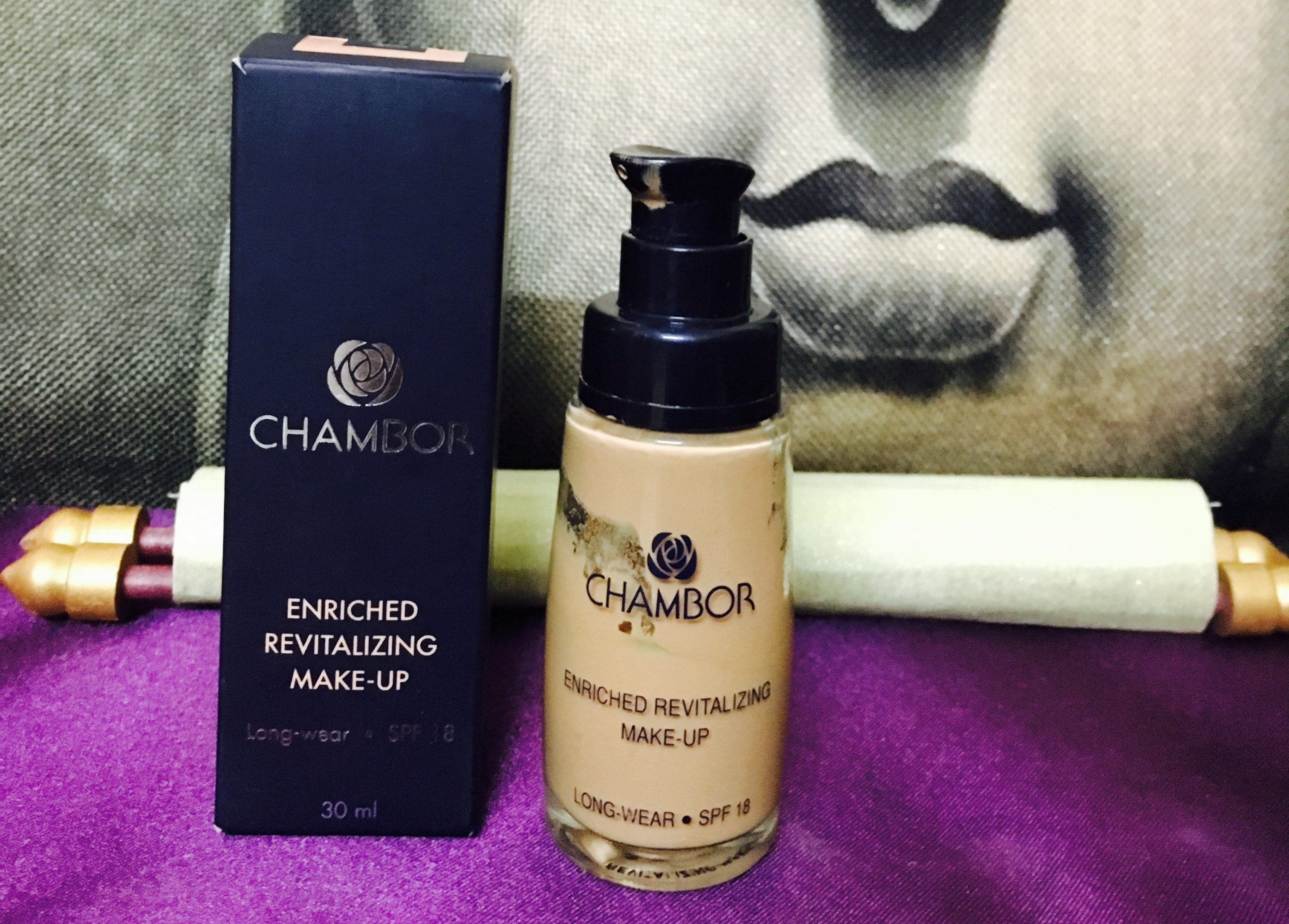 Chambor Enriched Revitalising Make Up Foundation