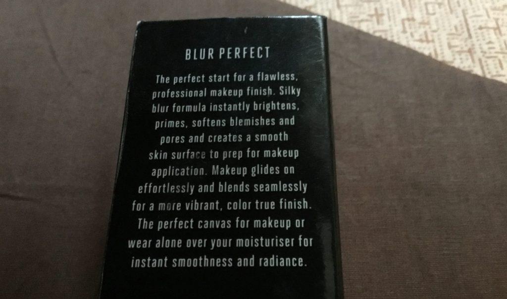 Lakme blur Perfect primer Claims