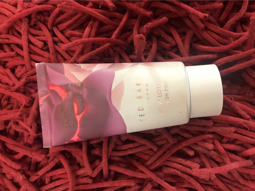 Ted Baker London Blush Pink Body Lotion