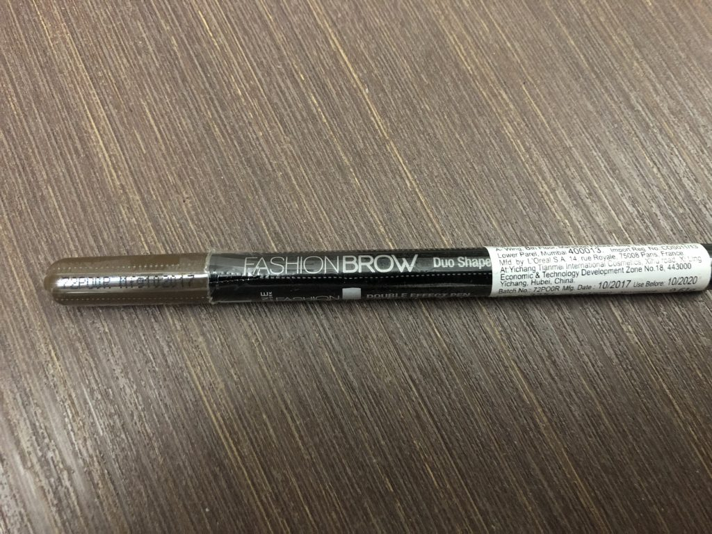 Maybelline New York Fashion Brow Duo Shaper in Brown Ingredients