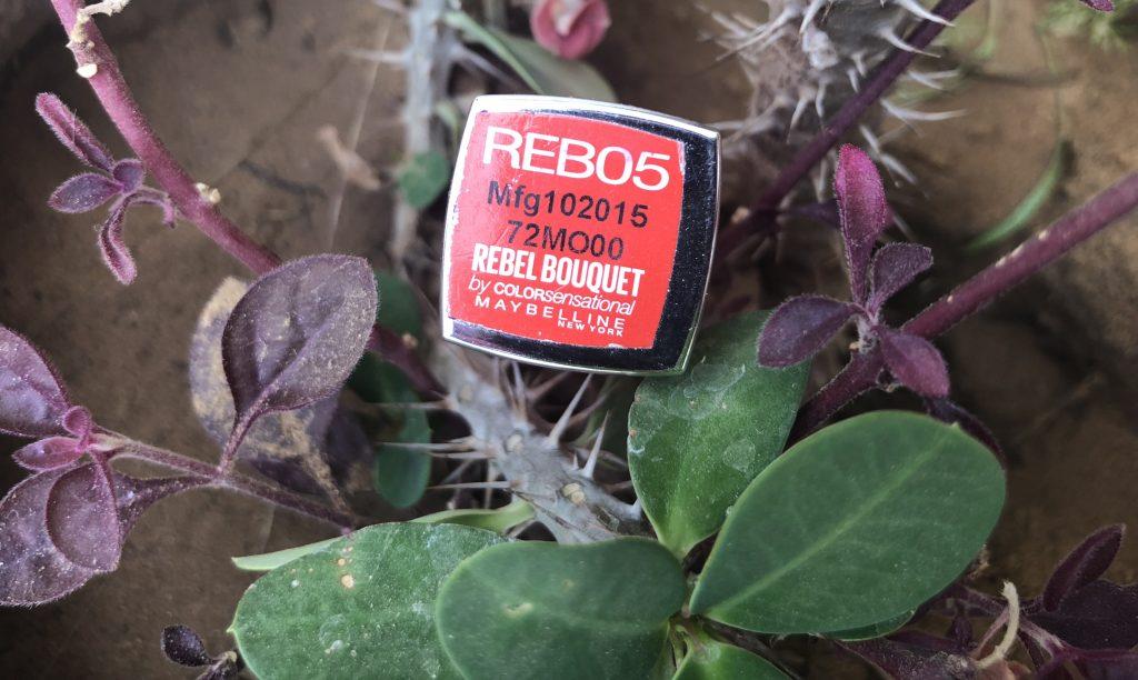 Maybelline Rebel Bouquet REBO5 Lipstick