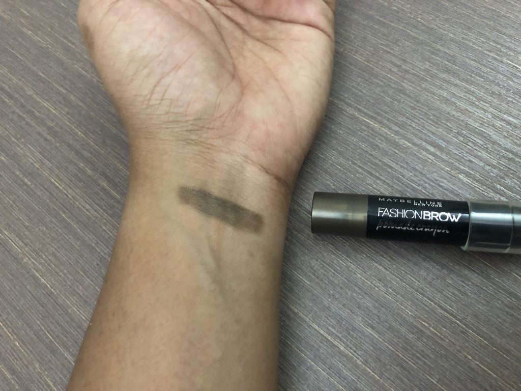 Maybelline New York Fashion Brow Pomade Crayon in BR-2 Mocha Swatch