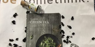 Face Shop Real Nature Green Tea Face Mask
