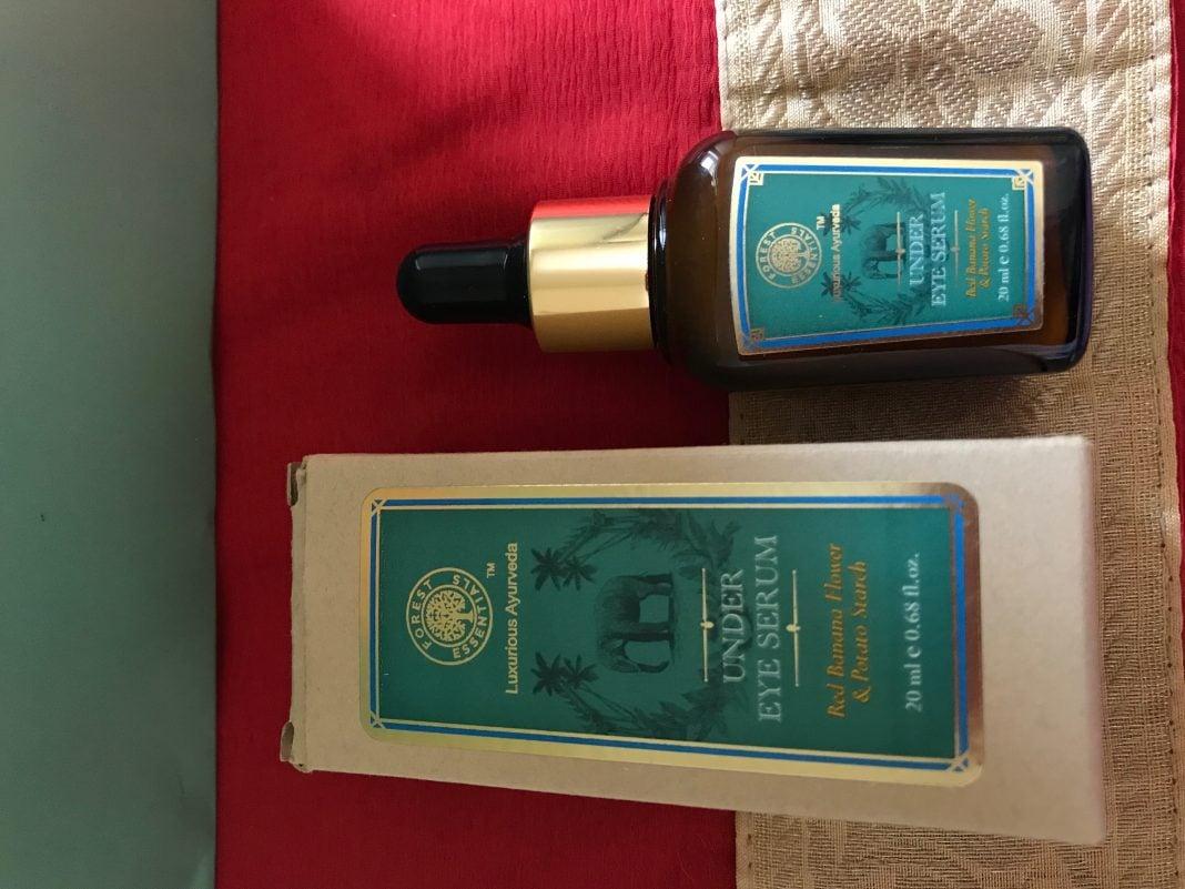 Forest Essentials Under eye serum Red Banana Flower & Potato Starch