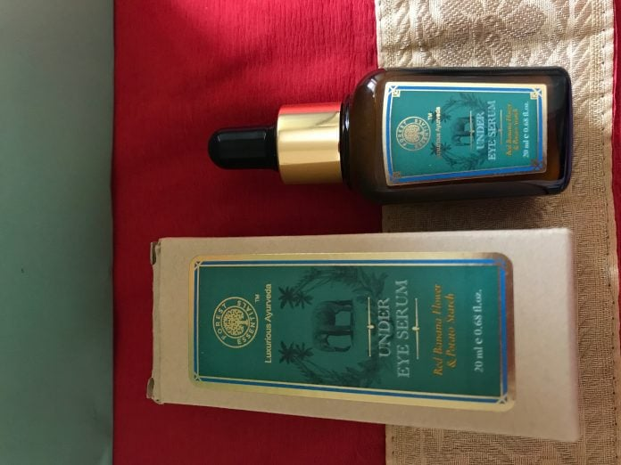 Forest Essentials Under eye serum Red Banana Flower & Potato Starch