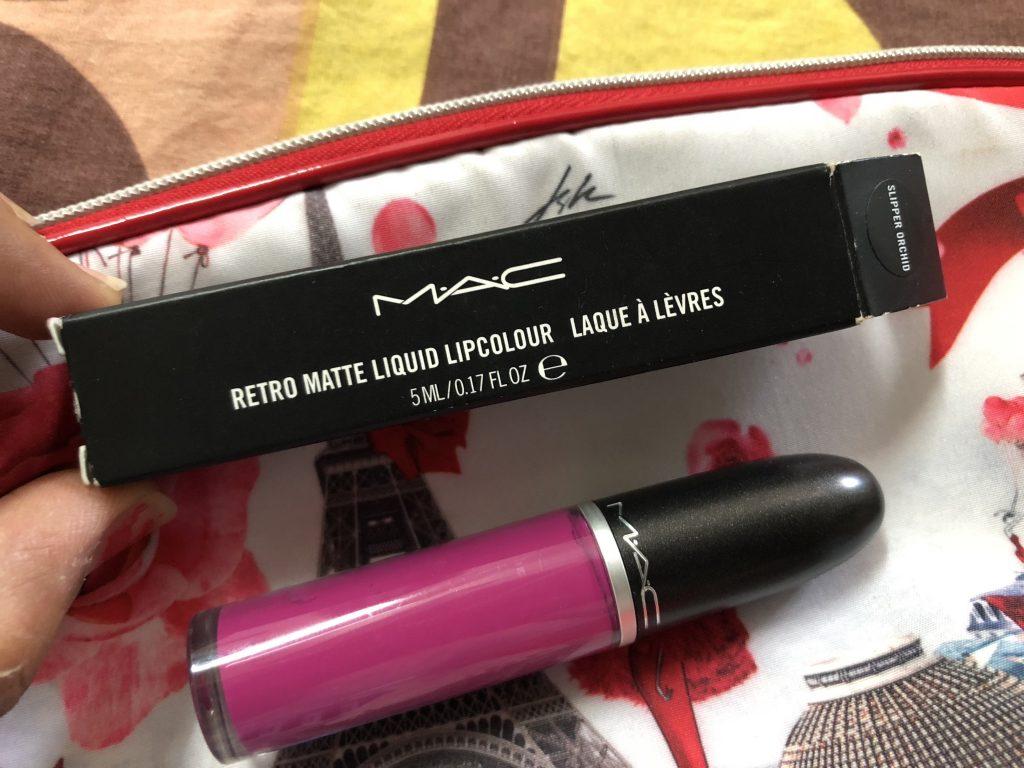 MAC Retro Matte Liquid Lipcolour Slipper Orchid Lipstick