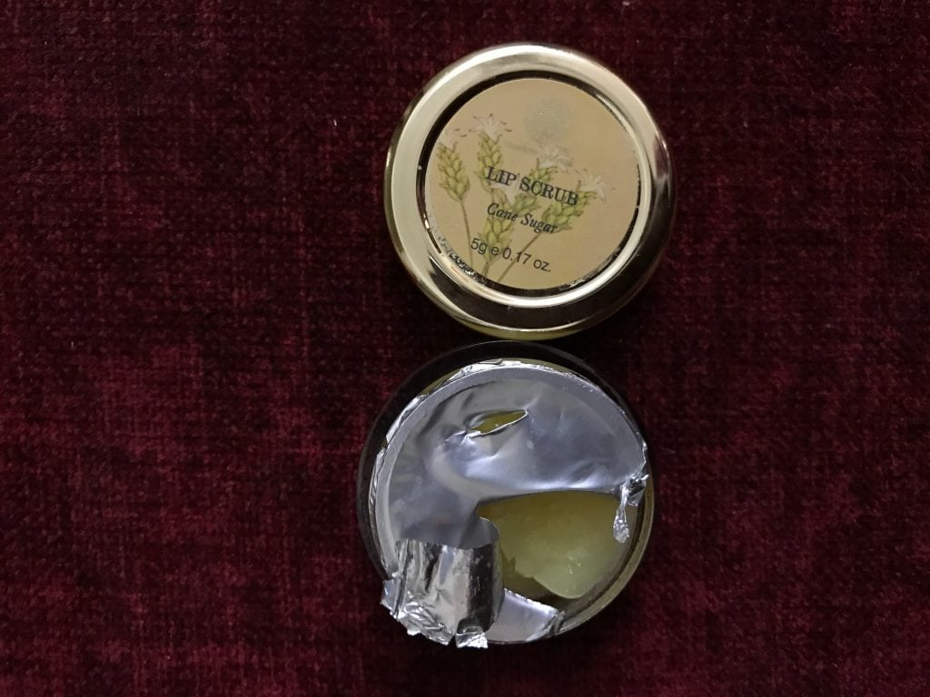 Forest Essentials Lip Scrub Cane Sugar
