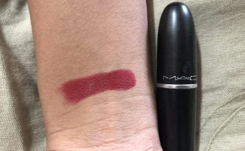 MAC Perfect Score Matte Lipstick