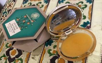 Forest Essentials Lip Balm Sweet Narangi with Organic Bees Wax