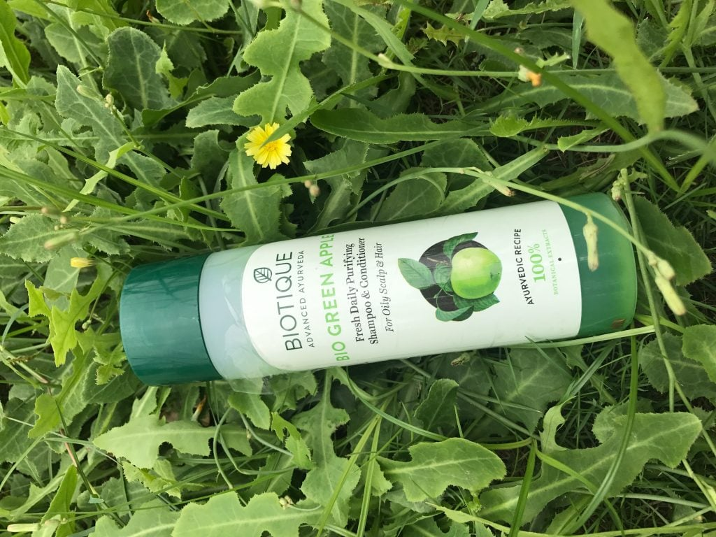 Biotique Bio Green Apple Daily Purifying Shampoo and Conditioner