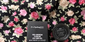 Mac Pro Longwear Fluidline Gel Eyeliner in Blacktrack