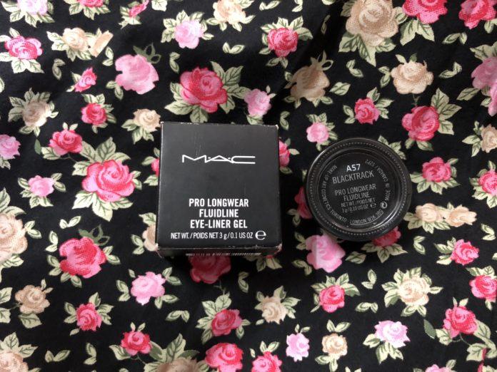 Mac Pro Longwear Fluidline Gel Eyeliner in Blacktrack
