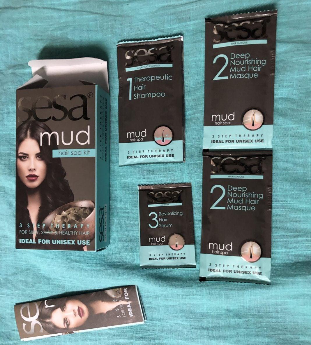 Sesa Mud Hair Spa