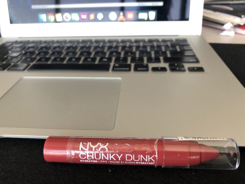 NYX Chunky Dunk Hydrating Lippie in Rum Punch