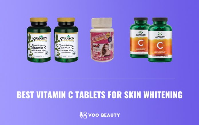 best vitamin c tablets for skin whitening