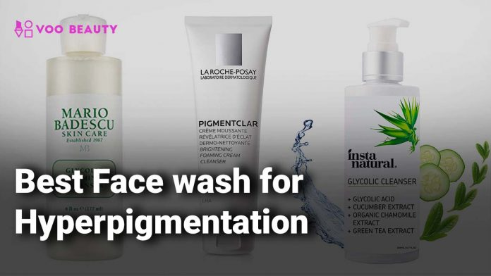 Best Face wash for Hyperpigmentation