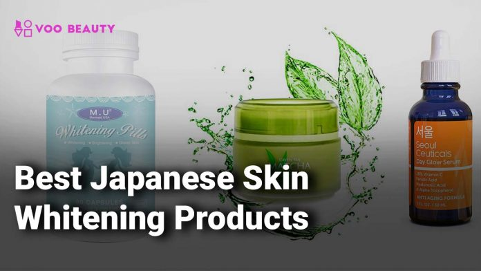 best japanese skin whitening products