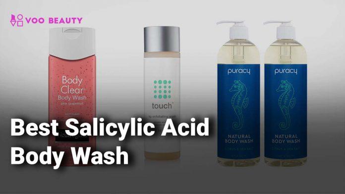 body wash with salicylic acid