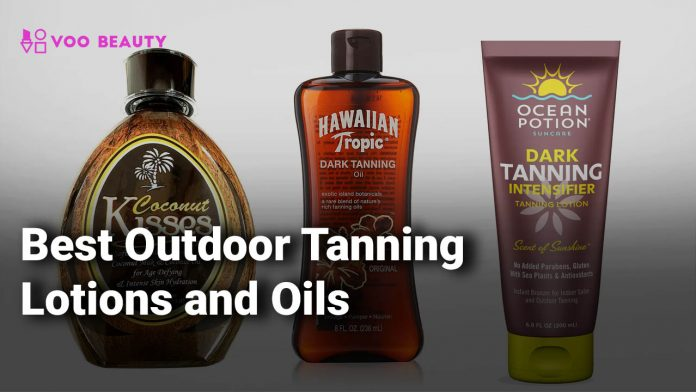 Best Outdoor Tanning Lotions and Oils