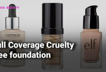 Full Coverage Cruelty free foundation