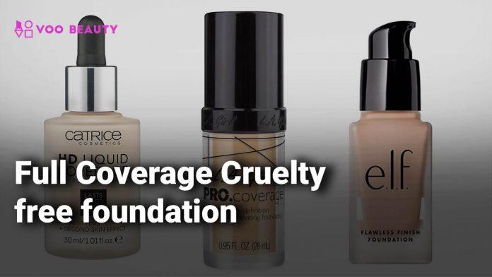 Full Coverage Cruelty free foundation