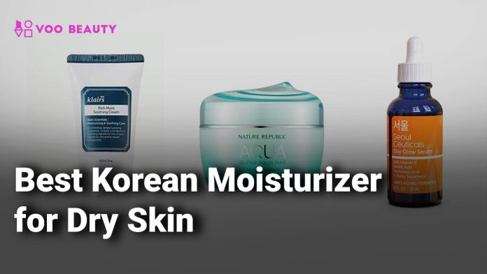 korean moisturizer for dry skin