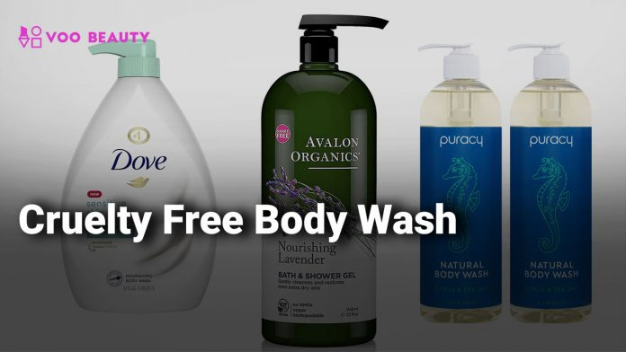 Cruelty free Body Wash