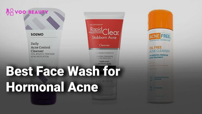 Best Face Wash for Hormonal Acne