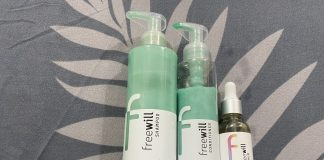 Freewill personalised hair kit